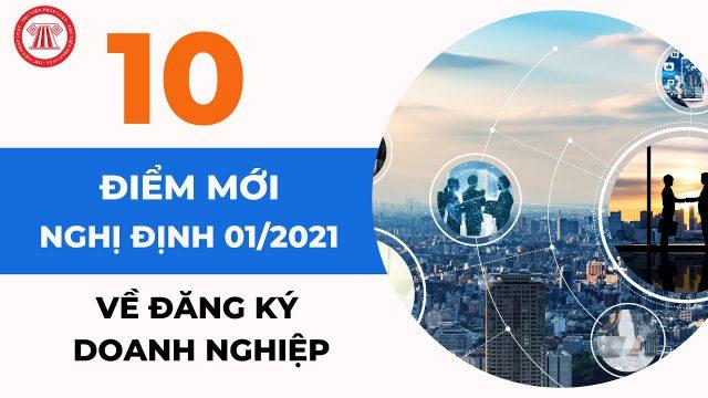 10 Điều cần lưu ý khi Thành lập doanh nghiệp từ ngày 01/01/2021